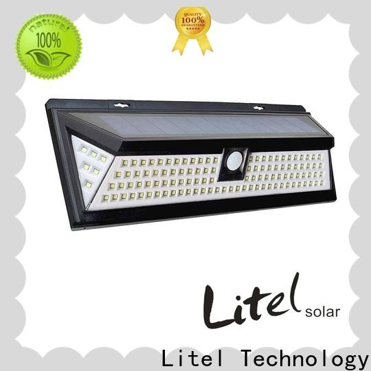 Litel Technology wall mounted bright solar garden lights abs for garden