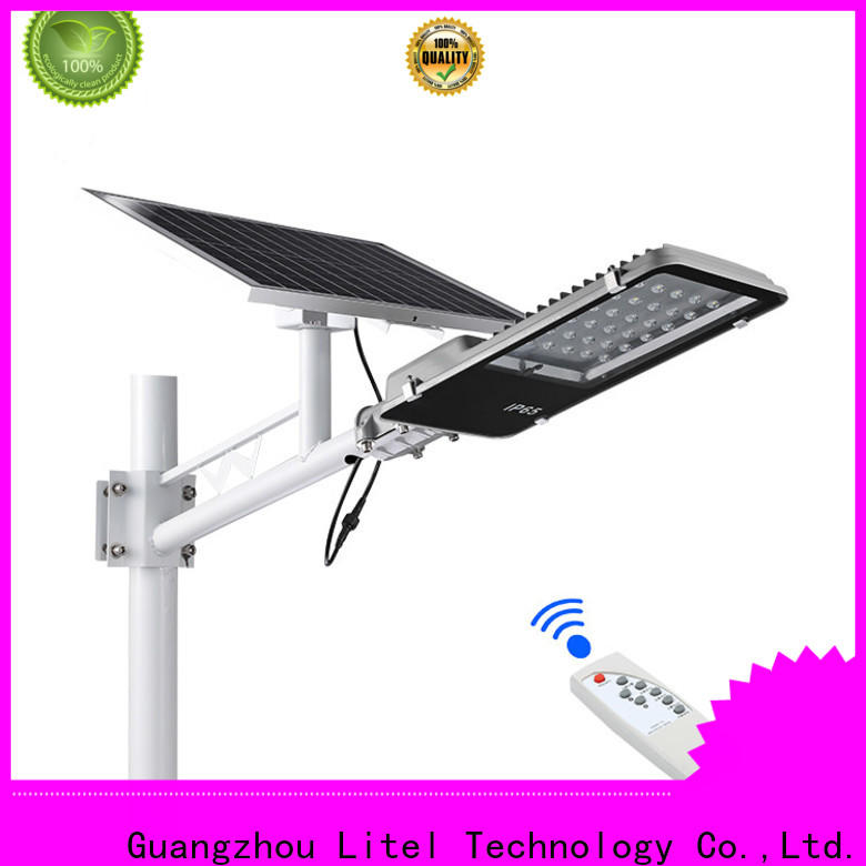 Litel Technology hot-sale solar street light project custom for landscape