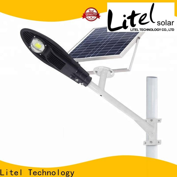 Litel Technology low cost solar street lighting system for factory
