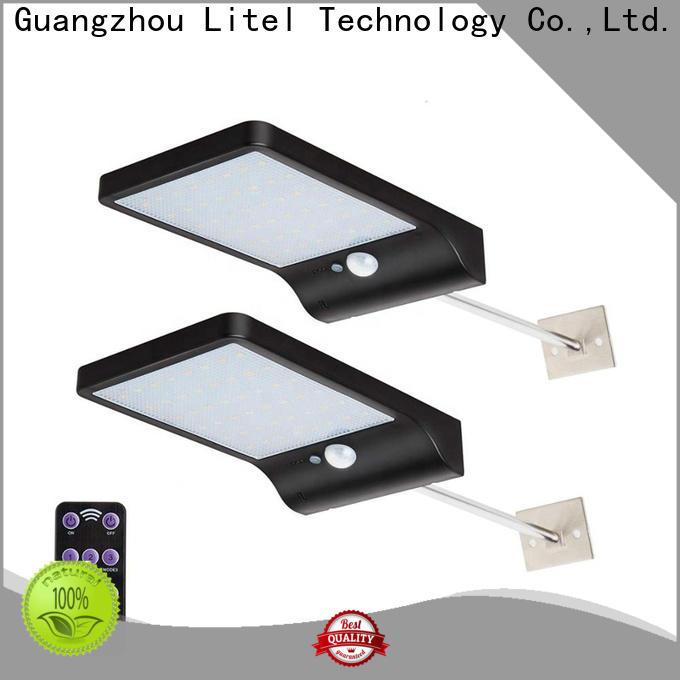 Litel Technology spot outdoor solar garden lights sensor for gutter
