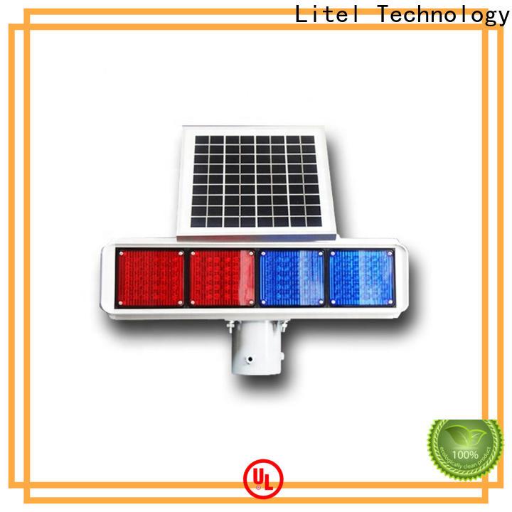 Litel Technology solar powered traffic lights hot-sale for alert