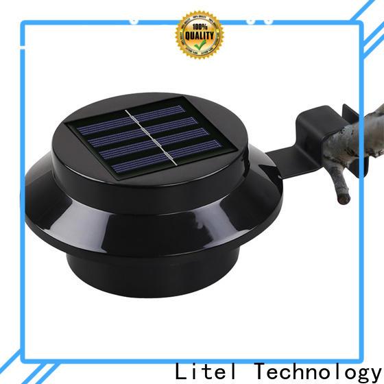 Litel Technology sensor solar led garden light wall for landing spot