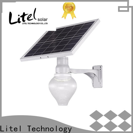 Litel Technology step best solar garden lights walkway for lawn