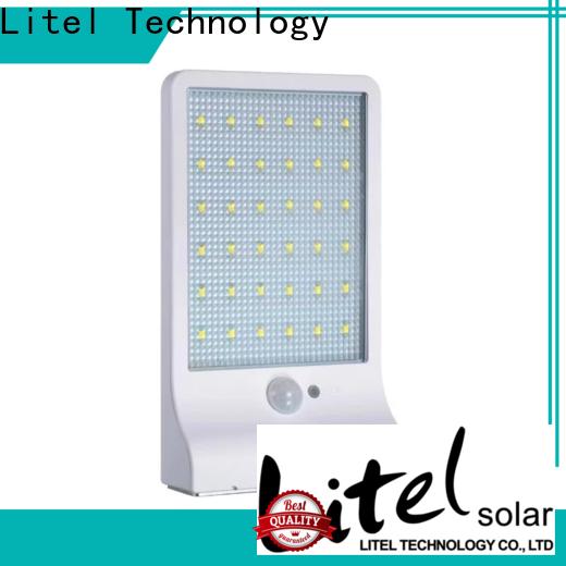 Litel Technology wall mounted solar led garden light step for landscape