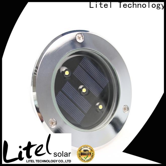 Litel Technology light solar powered garden lights motion for landscape
