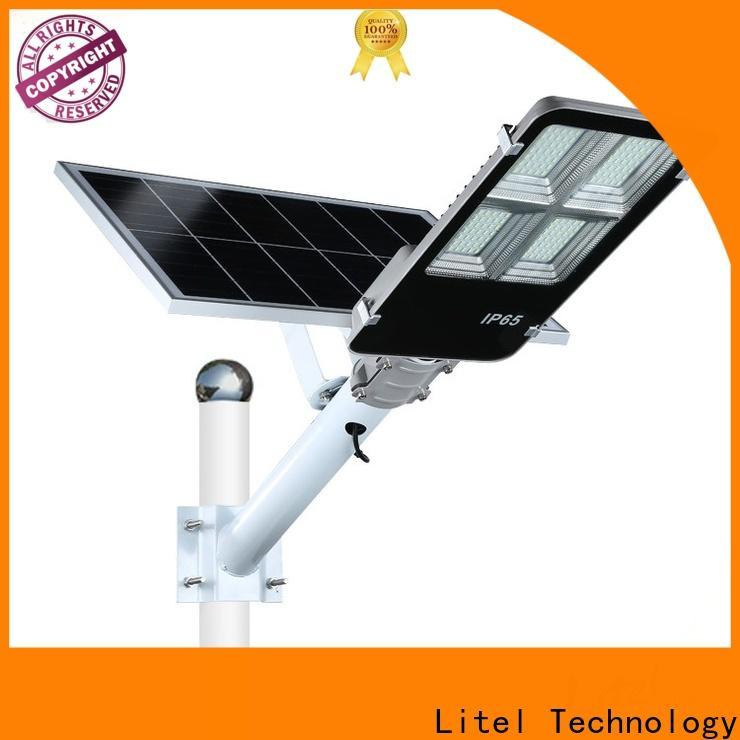 Litel Technology popular solar powered street lights residential sensor remote control for barn