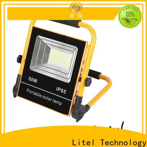 Litel Technology reasonable price solar flood lights by bulk for porch