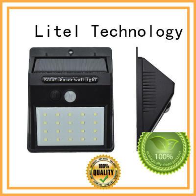 garage high quality solar garden lights security garden Litel Technology