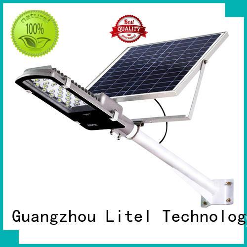 Litel Technology waterproof 30w solar led street light hot sale for lawn