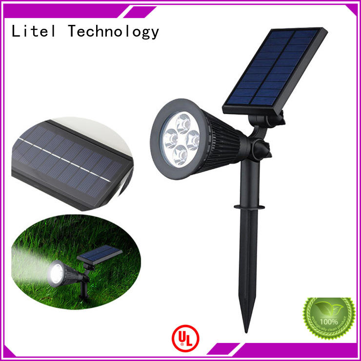 high power solar garden lights power landscape Litel Technology