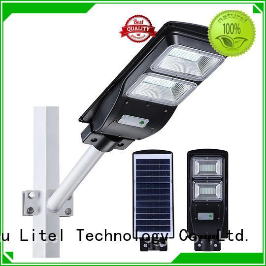 solar remote all solar led street light sensor Litel Technology Brand
