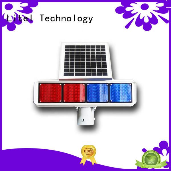 solar traffic lights emergency for alert Litel Technology