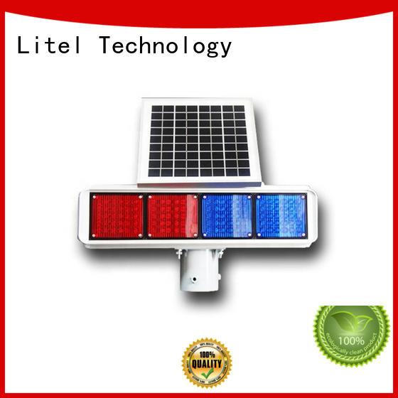 traffic solar energy traffic lights solar road Litel Technology