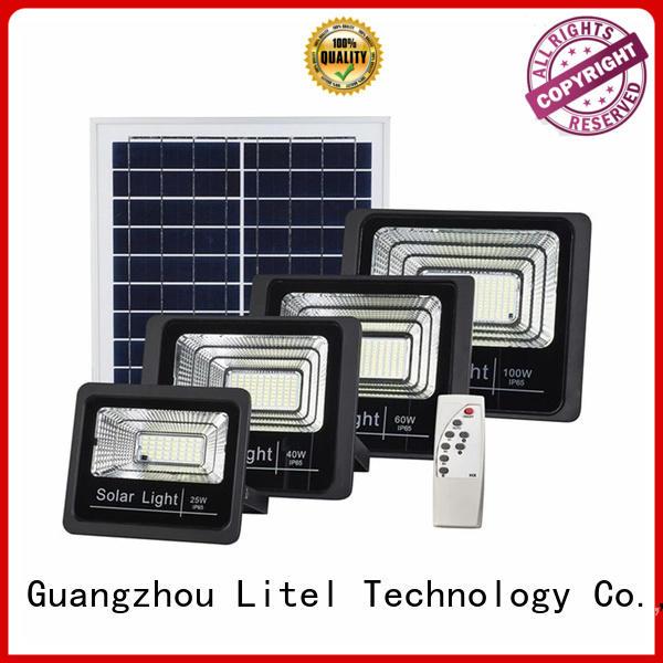 light solar flood lights outdoor control for Litel Technology