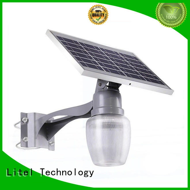 Litel Technology wall mounted high quality solar garden lights top selling for garden