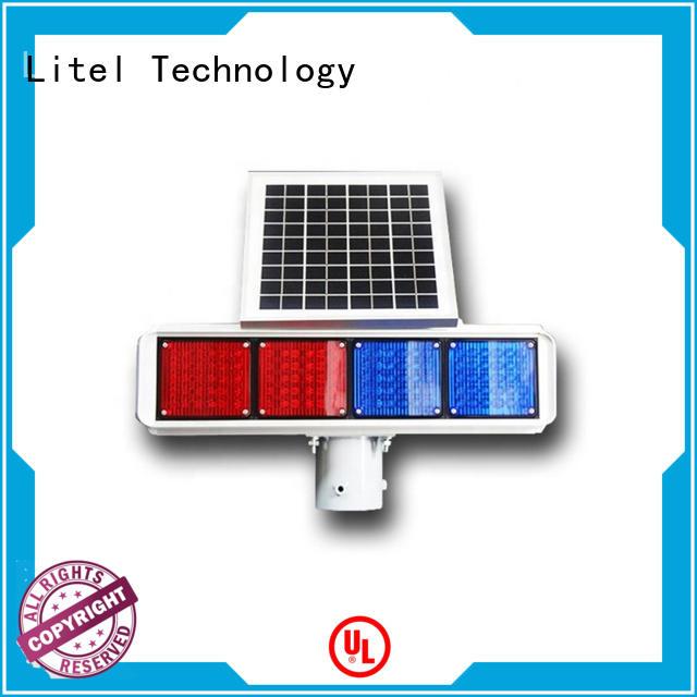 Litel Technology ODM solar traffic lights top brand for warning