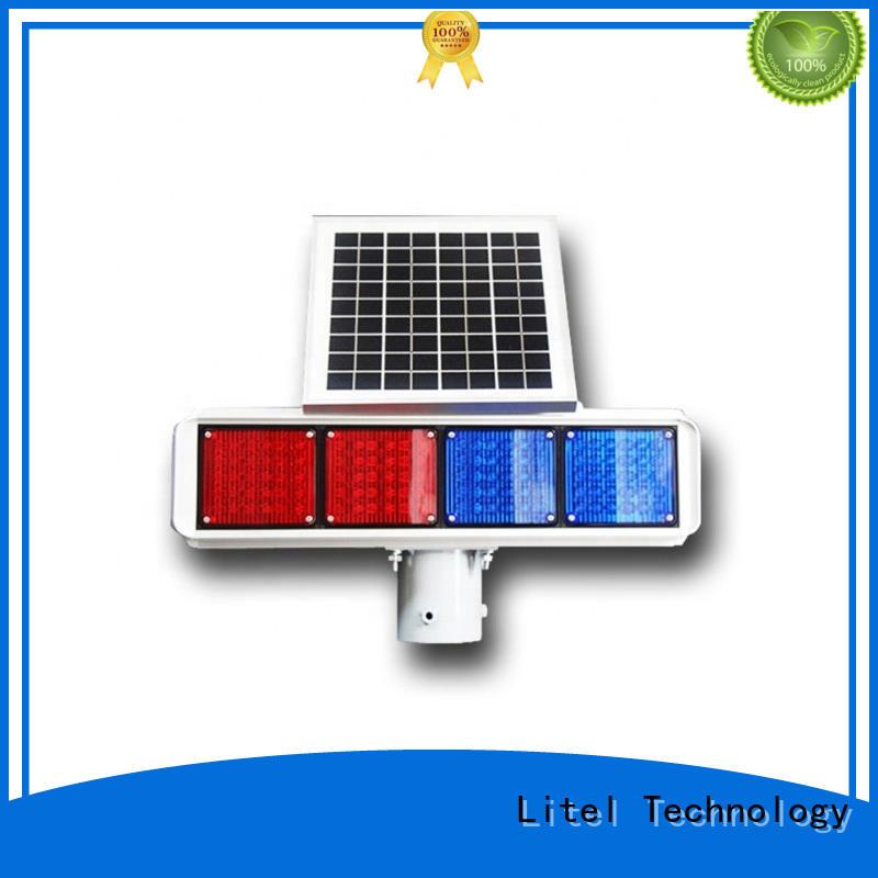 solar traffic light system bulk production for high way Litel Technology