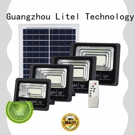 Litel Technology best quality solar powered motion flood lights for workshop