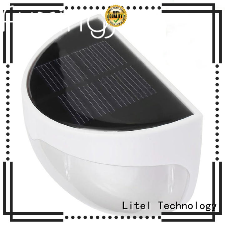 Litel Technology wireless quality solar garden lights wall for landscape