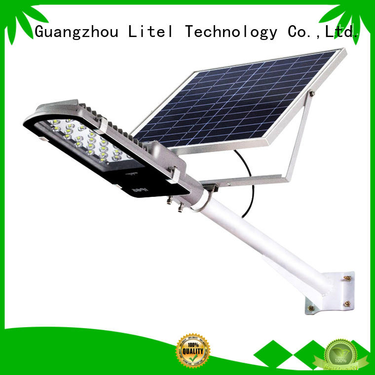 solar street lights for home at discount for landing spot Litel Technology