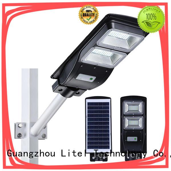 Litel Technology sensor solar powered street lights check now for warehouse
