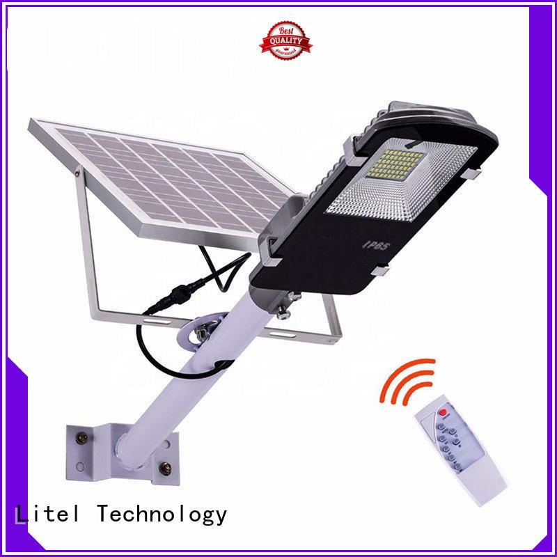Litel Technology wall mounting best solar street lights for factory