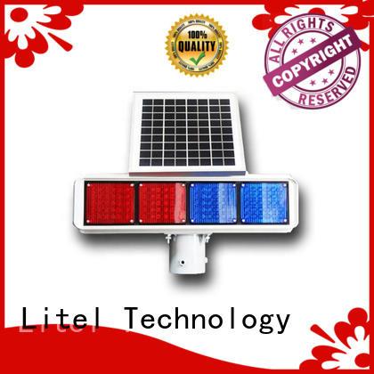 ODM solar energy traffic lights bulk production for high way Litel Technology
