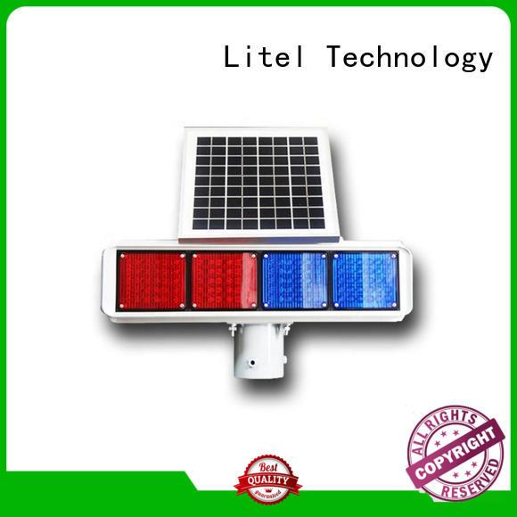 ODM solar led traffic lights output hot-sale for road