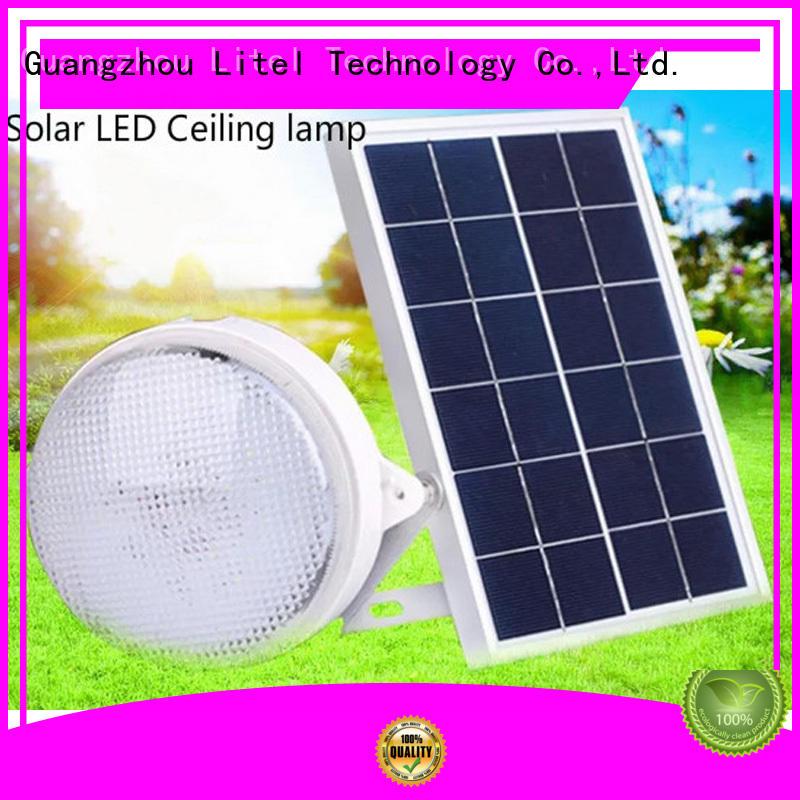 solar outdoor ceiling light light brightness Litel Technology