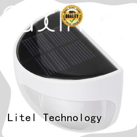 stainless steel solar garden lights microwaredim lawn Litel Technology