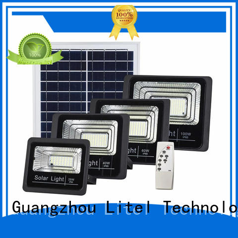 Litel Technology best quality solar flood lights by bulk for patio