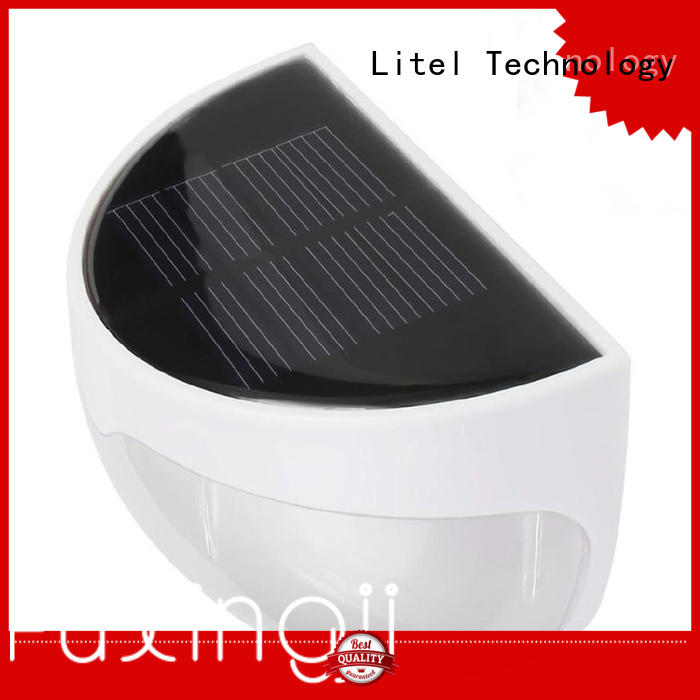 Litel Technology flickering solar garden path lights power for lawn
