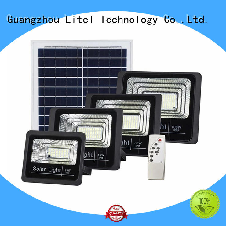 Litel Technology best quality solar powered flood lights for garage