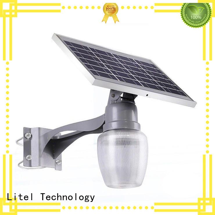 Litel Technology flickering quality solar garden lights wireless for gutter