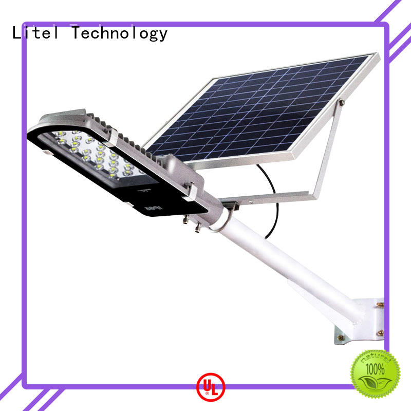 wall mounted solar street lights for home custom for landing spot Litel Technology
