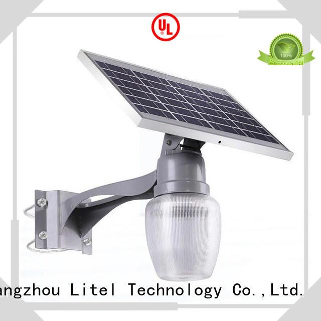 wireless small solar garden lights walkway for landscape Litel Technology