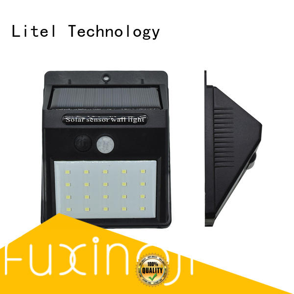 solar garden wall lights abs for lawn Litel Technology