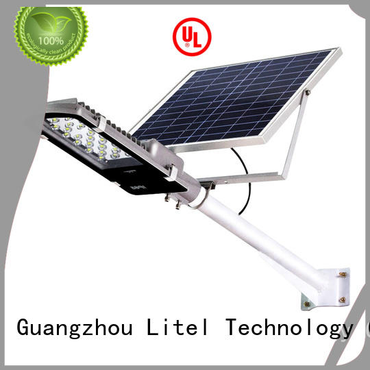 solar street light project control project Litel Technology
