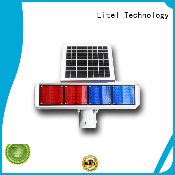 Litel Technology solar led traffic lights at discount for high way