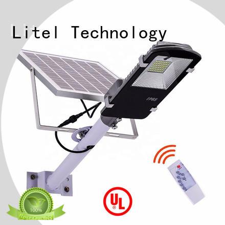 Litel Technology Brand remote sensor solar powered led street lights street
