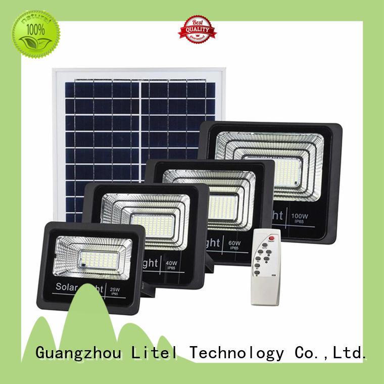 Litel Technology reasonable price solar powered led flood light durable for barn