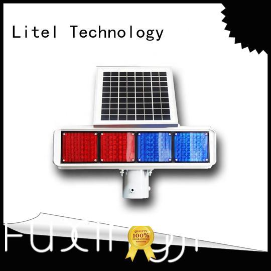 Litel Technology emergency solar traffic lights manufacturers led road