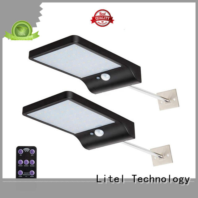 abs step wall Litel Technology Brand solar garden lights