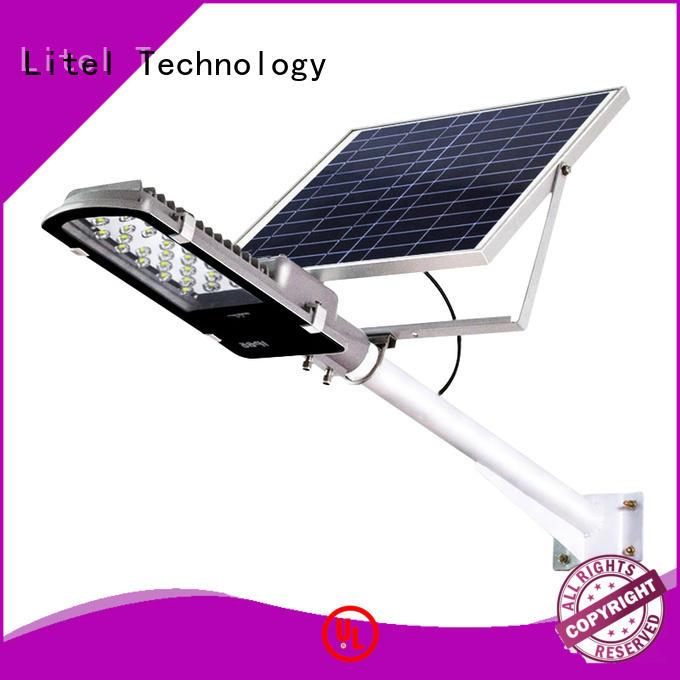 18 watt solar led street light led project Litel Technology