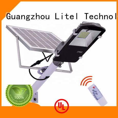 wall mounting 60w solar led street light easy installation for patio