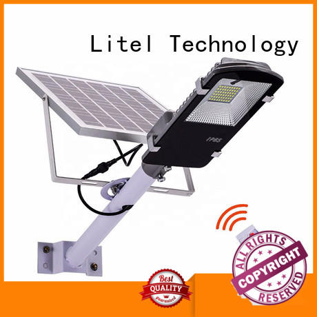 outdoor 20w solar led street light for workshop Litel Technology