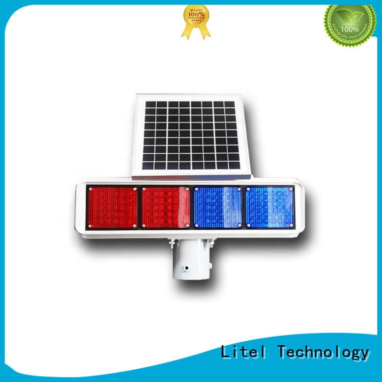 Litel Technology Brand traffic led blinking powered solar traffic lights