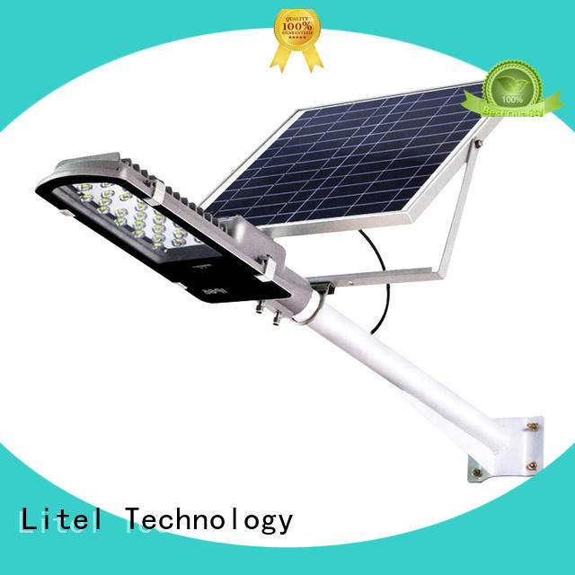 solar panel street light at discount for landscape