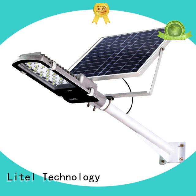 solar panel street light at discount for landscape