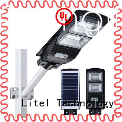 Litel Technology aluminum solar led street light radar